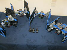 Rare Lego 10131 Tie Fighter Collection Complete with Minifigs 4 Ships
