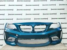 BMW M2 F87 2015-2016 FRONT BUMPER IN BLUE GENUINE [B571]