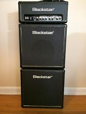 Blackstar HT-5 guitar tube amp and 2   HT110  speaker cabs Full Stack Excellent