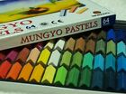 Mungyo Pastels Soft Drawing Art 24/32/48/64 Colors Set Square Chalk Painting Art