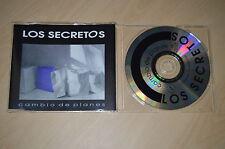 Los secretos - Cambio de planes. CD-Single PROMO (CP1705)