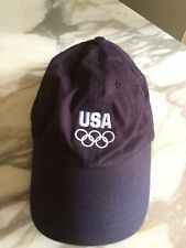 USA Olympic Rings Navy hat Adjustable Back One Size