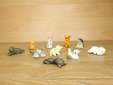 Japanese Yujin Kitten Pet Cat Figure x10