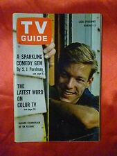 Pittsburgh March 7 TV GUIDE 1964 DR. KILDARE Richard Chamberlain Dogs Cats on tv