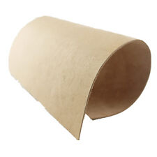 """Natural Tanned Leather Piece 11.6 """"x 6.2"""" for Sheath, Tooling Wet Moulding TO33"""