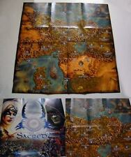 Sacred 2 Fallen Angel Poster Map 50x50 cm game