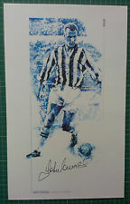 John CHARLES-JUVENTUS & WALES-firmato ASSOCIAZIONE STAMPA-molto scarse Edition
