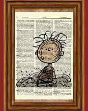 Pigpen Charlie Brown Dictionary Art Print Picture Poster Peanuts Pig Pen