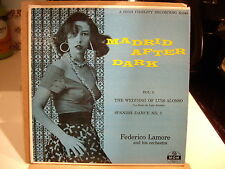 MADRID AFTER DARK Vol. 3 - FEDERICO LAMORE Orch - MGM Records 45 EP  Cheesecake