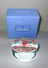 Wedgwood Twelve 12 Days of Christmas A Partridge Box Boxed