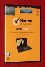 (Brand NEW, Sealed) Norton Anti-Virus Antivirus (with CD/DVD) 1 PC, 1 Year