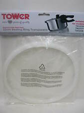 New Tower Pressure Cooker Gasket Sealing Ring Models T80206 T80207 TS2004 22cm