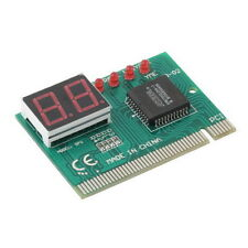 PCI Diagnostic 2-Digit Card Motherboard Post Tester Analyzer Checker Laptop UL