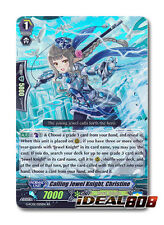 Cardfight Vanguard  x 4 Calling Jewel Knight, Christine - G-FC02/025EN - RR Mint