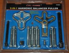 2 in 1 Harmonic Balancer Damper Puller Tool Pulley Gear Installer Remover Kit