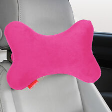 Memory Foam Dog Bone Car Neck Pillow Head Rest Travel Road Trip Posture Support