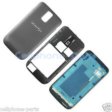 OEM Samsung Galaxy S2 T989 Housing + Battery Door + Bezel & Middle Frame, Black