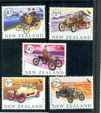 New Zealand- Vintage Cars set of 5 mnh
