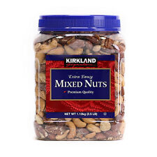 Kirkland Signature Extra Fancy Mixed Nuts 1.13kg/2.5LB/Almond Macadamia Pecans