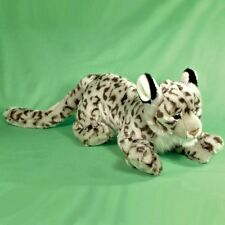 70cm Large Snow Leopard Soft Toy - Cuddly Toy Animal - 0+ Years