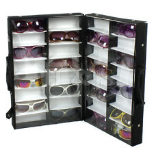 32 Pairs Sunglasses Glasses Retail Shop Display Storage Unit Stand Case Box
