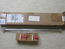 "New Pottery Barn Vintage Hardware .75"" Antique Pewter Rod & Brackets 24-48 Inch"