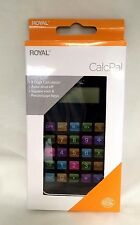 Royal CalcPal Pocket  Calculator, 8-Digit LCD. Free Shipping. Smart Phone Looks