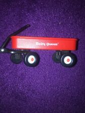 Dairy Queen miniature Radio Flyer Red Wagon Promotional Toy