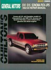 Chevrolet S10, S15, Sonoma, and Pick-ups, 1982-93 (Chilton Total Car Care...