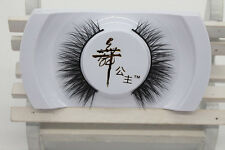 Schwarz 100% Real Mink Lang Natural Dick falsche Wimpern False Eyelashes IMAX