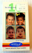 10 ~ Ten Things Every Child Needs ~ NEW SEALED ~ VHS Movie Video ~ Tim Reid
