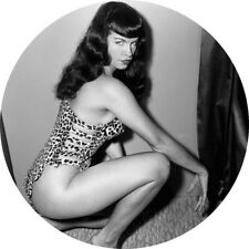 CHAPA/BADGE BETTIE PAGE . pin up burlesque exploitation tempest storm marilyn
