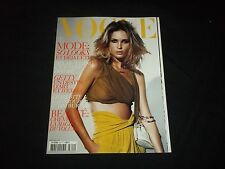 2004 FEBRUARY VOGUE PARIS MAGAZINE - ERIN WASSON - FASHION COVER - F 3012