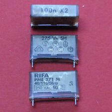 5 x RIFA METALLPAPIERKOND. 100nF X2 275VAC PME271M RM 20 0.1µF 5pcs.