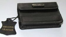 GENUINE LEATHER SLIM CAMERA CASE FOR SAMSUNG, SONY, NIKON, PANASONIC, EASYPIX