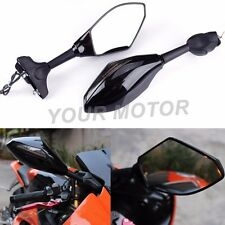 LED TURN SIGNAL INTEGRATED INDICATOR REARVIEW SIDE MIRRORS For Suzuki GSXR600 US