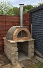 Pizza oven dome outdoor woodfired wood fired DIY kit + instructions - commercial