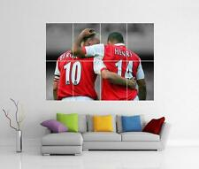 THERRY HENRY DENNIS BERGKAMP ARSENAL GUNNERS GIANT WALL ART PICTURE PHOTO POSTER
