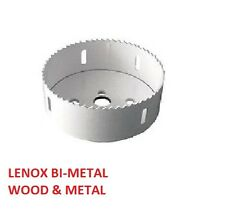 "LENOX 30027 27L 43MM 1 11/16"" WOOD & METAL HOLE SAW EXTENDED LIFE"