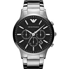 Brand New Emporio Armani Cronografo in Acciaio Inox Men Watch ar2460