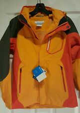 COLUMBIA Omni-Tech Waterproof Breathable Interchangeable Jacket NEW WITH TAGS