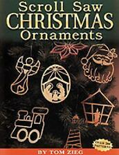 Scroll Saw Christmas Ornaments : Over 200 Patterns by Tom Zieg (1999, Paperback)