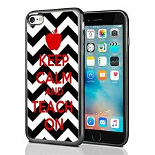 Keep Clam And Teach On Chevron For Iphone 7 Case Cover By Atomic Market