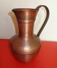 Alte Bodenvase  Kupfervase Deko Vase