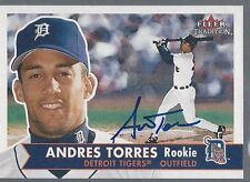 San Francisco Giants ANDRES TORRES Signed Tradition Card