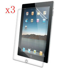3pcs HD Clear Screen Protector Guard Cover Shield Film For Apple iPad 2 3 4