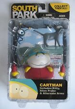 RARE New Sealed MOC Mezco South Park CARTMAN Action Figure + Kitty Alien Probe