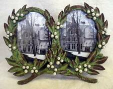 Victorian Trading Antique inspired Laurel Wreath Double Frame Home Decor - NEW