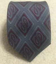 Vintage Givenchy Monsieur For Bloomingdales All Silk Necktie Tie Made in Italy