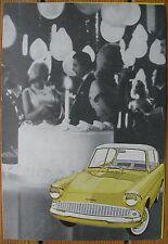 1960S FORD ANGLIA 105E BROCHURE MANUAL RS